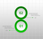 Vector business template for presentation. Stock Photo