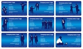 Vector businesscards Stock Photos