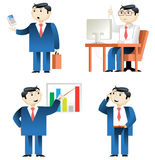 Vector businessman stock photo