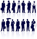 Vector businessmans. Royalty Free Stock Photos