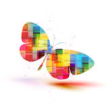 Vector butterflies background design Royalty Free Stock Photography
