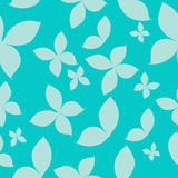 Vector butterflies seamless pattern. Blue Royalty Free Stock Photography