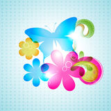 Vector butterfly Royalty Free Stock Photo