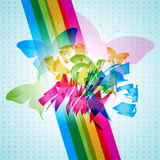 Vector butterfly Stock Images