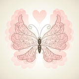 Vector butterfly Stock Photos