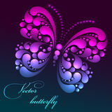 Vector butterfly Stock Photo
