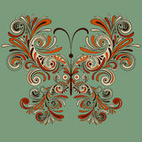 Vector Butterfly Royalty Free Stock Images
