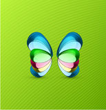 Vector butterfly background Stock Images