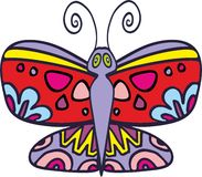 Vector butterfly 2 Royalty Free Stock Photos