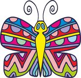 Vector butterfly 3 Royalty Free Stock Images