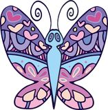 Vector butterfly 4 Stock Photos