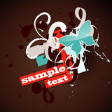 Vector butterfly design Royalty Free Stock Image