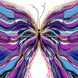 Vector butterfly design. Stock Image