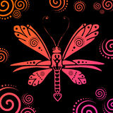 Vector butterfly illustration Royalty Free Stock Images