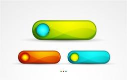 Vector button Stock Image