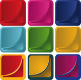 Vector Buttons Stock Photo