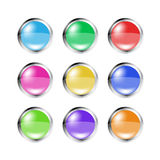 Vector buttons Stock Photography