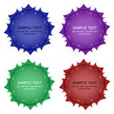 Vector buttons of different colors set. Element for design. Vector buttons of different colors set. Element for your design stock illustration