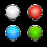 Vector buttons Stock Photo