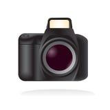 Vector a câmera de reflexo ilustração stock