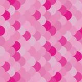 Vector círculos de sobreposição do teste padrão colorido sem emenda moderno da geometria Fotografia de Stock Royalty Free