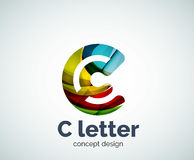 Vector C letter concept logo template Stock Images