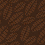 Vector cacao seamless Royalty Free Stock Photography