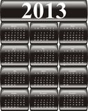 Vector calendar 2013 Stock Images