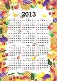 Vector calendar 2013 Stock Image