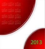 Vector calendar 2013. For your website vector illustration