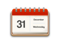 Vector calendar Royalty Free Stock Photography