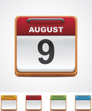 Vector calendar icon Stock Images