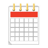 Vector calendar icon design Stock Photo