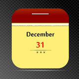 Vector Calendar Icon Stock Photography
