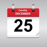 Vector calendar page Stock Photo
