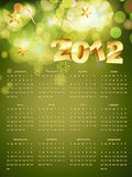 Vector calender Royalty Free Stock Photography