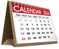 Vector Of A Calender With 31 Days Royalty Free Stock Images