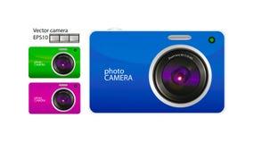 Vector camera Royalty Free Stock Image