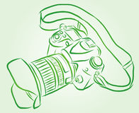 Vector Camera Royalty Free Stock Images
