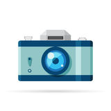 Vector camera icon Stock Photography