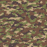 Vector camouflage pattern. Vector abstract background of summer camouflage pattern Royalty Free Stock Photography