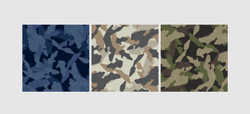 Vector camouflage pattern Royalty Free Stock Images