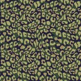 Vector camouflage seamless pattern with memphis skin animal texture. Fashion illustration for textile fabric print and wrapping. vector illustration