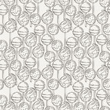 Vector Candy and Lollipop Seamless Pattern. Sweet Party Texture. Royalty Free Stock Photo