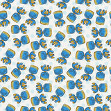 Vector Candy and Lollipop Seamless Pattern. Sweet Party Texture. Stock Images