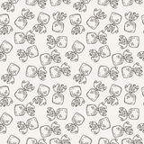 Vector Candy and Lollipop Seamless Pattern. Sweet Party Texture. Royalty Free Stock Image