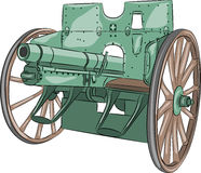 Vector Cannon Royalty Free Stock Image