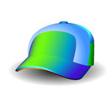 Vector cap. Vector of illustration of sporting hat Stock Images