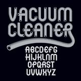 Vector capital modern alphabet letters set. Trendy font, script