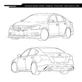 Vector car Stock Images